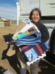 Bessie Wilson w Quilts