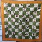 Pieced and Quilted by Lynn Bush for QBB