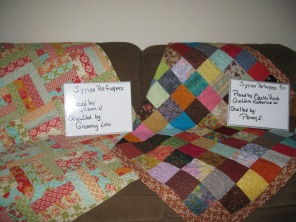 Alison Voinot_Louise Luberts__Castle Rock Quilters-Katherine W_Penny Evers