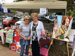 Sheila Hughes and Karen Matheson