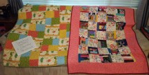 Omaha and crumbs. quilted by Sherree N.