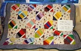 Ora S. Quilted by Cathi F.