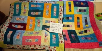 Texas Quilters Holy Spirit Episcopal Church. Quilted by Cathi F.